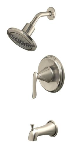 Danze Kenzie Single Handle Tub & Shower Faucet, Brushed Nickel Product image