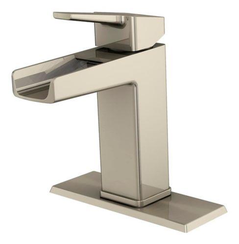 Robinet de lavabo à 1 poignée Danze Reeve, nickel brossé Image de l'article