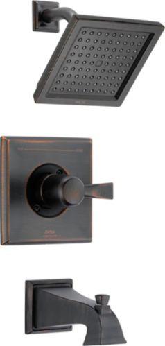 Garniture de baignoire et douche Delta Dryden, bronze vénitien Image de l'article