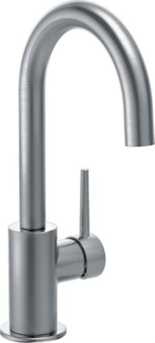 Delta Trinsic 1-Handle Bar/Prep Faucet, Arctic Stainless Steel Product image