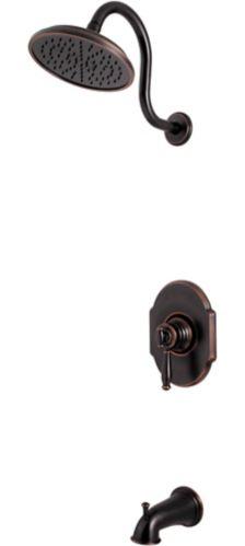 Robinet de bain et douche Pfister Hanover, bronze toscan Image de l'article