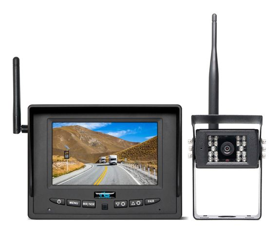 Rear View Safety 155W Truck Backup Camera System, 5-in Product image