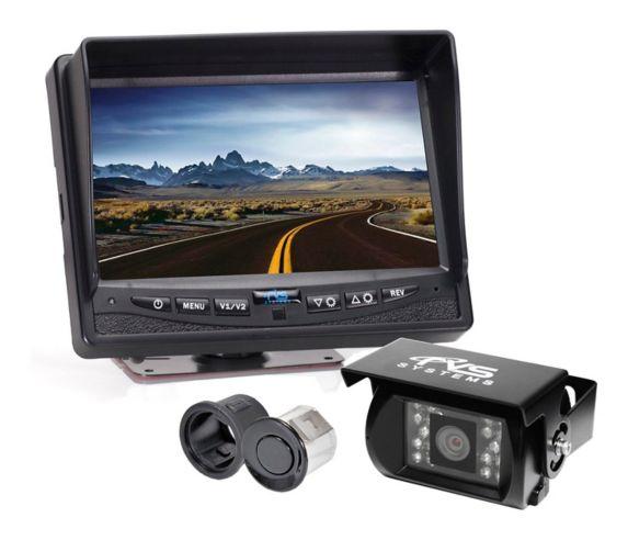 Caméra de recul pour camions lourds Rear View Safety, 7 po Image de l'article