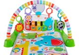 Fisher-Price Deluxe Kick and Play Piano Gym, Green | Mattelnull