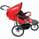 In-Step Safari TT Double Jogger 3-Wheel Stroller, Red | Schwinnnull