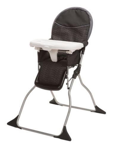 Chaise haute Cosco Simple Fold, chevrons noirs Image de l'article