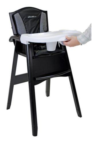Haute chaise en bois Eddie Bauer, bleu nuité Image de l'article