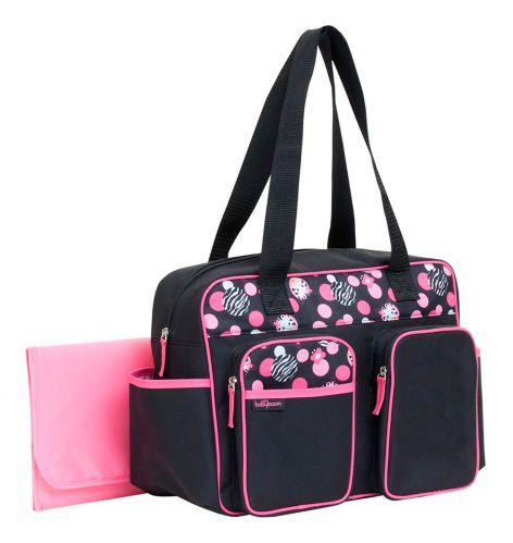 Baby Boom Zebra Duffle Diaper Bag Product image