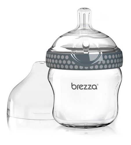Biberon en verre Baby Brezza, gris, 5 oz Image de l'article