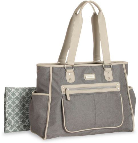 Carter's Cross Hatch City Tote Diaper Bag Product image