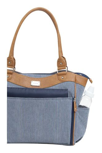 Carter's Convertible Tote, Black/White Stripe Product image