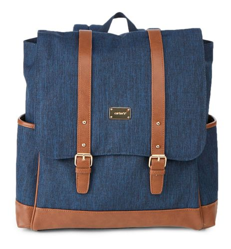 Carter's The Stride Backpack, Denim/Tan Product image