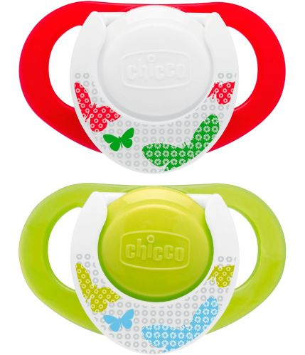 NaturalFit® Chicco Deco Shield Pacifier, Neutral, 4+ Months, 2-pk Product image