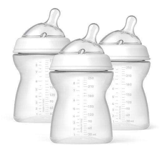 Naturalfit Baby Bottles, 2+ Months, 8-oz, 3-pk Product image