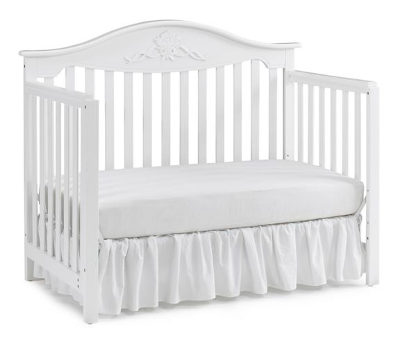 Fisher-Price Mia Convertible Crib, Snow White Product image