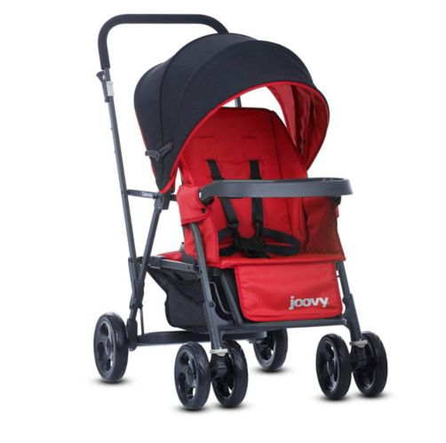 Joovy Caboose Stroller + Stand-On Tandem, Graphite Product image