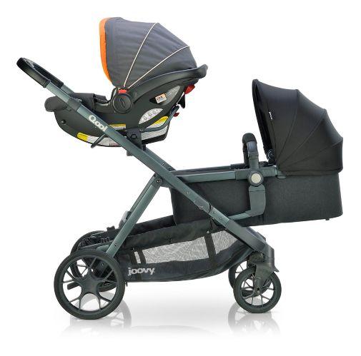 Joovy Baby Bassinet, Black Melange Product image