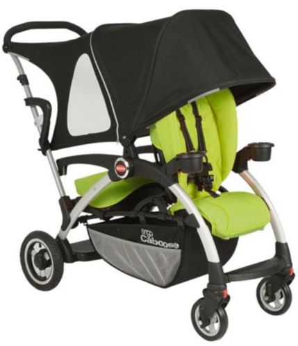 Joovy Ergo Caboose Seat Covers, Appletree Product image