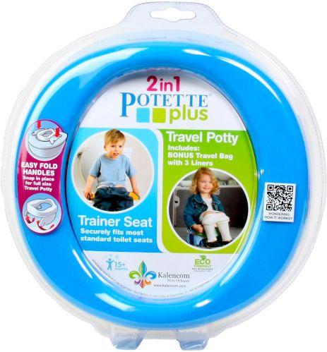 Siège de toilette pour enfant Potette Plus 2-en-1 Image de l'article
