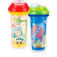 9 oz. Nuby Sippy Cup Insulated Easy Sipper No-Spill