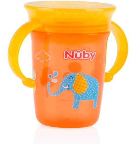 Nuby No-Spill 360 Wonder Cup, 8-oz. Product image