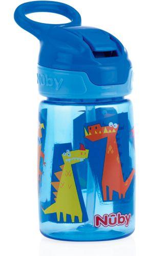 Gobelet Nûby Thirsty Kids No-Spill Flip-It Reflex, 12oz Image de l'article