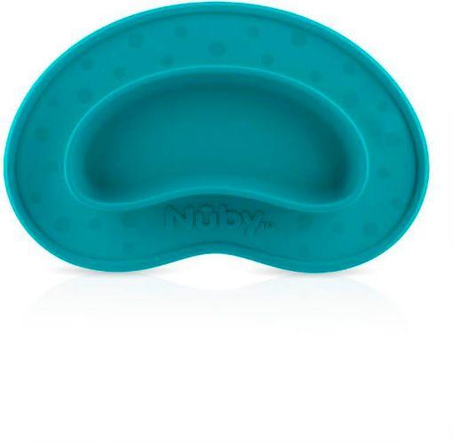 Assiette et napperon miracle en silicone Nûby Sure-Grip Image de l'article