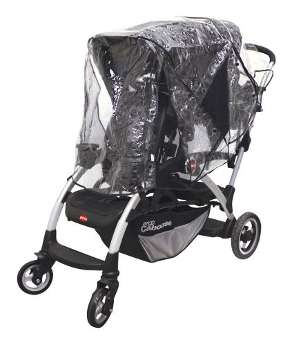 Nuby Deluxe Tandem Stroller Weather Shield Product image