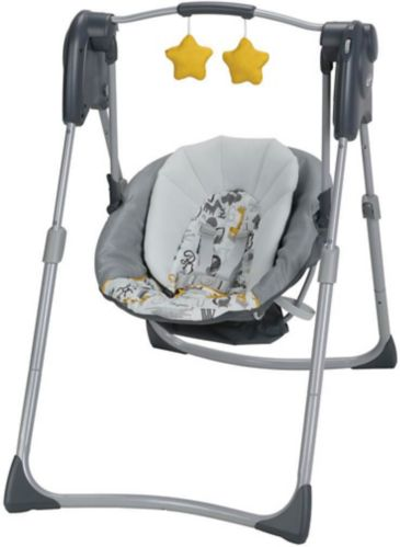 Graco Slim Spaces® Compact Swing, ABC Product image