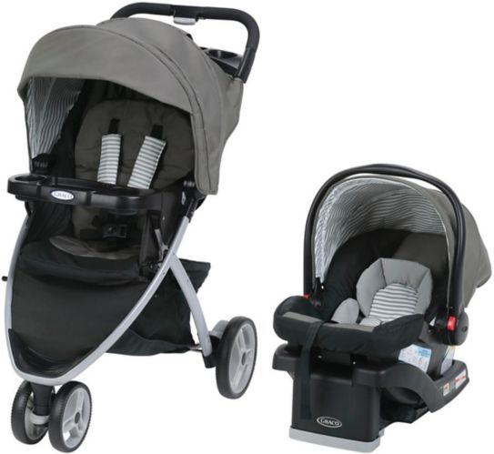 Graco Pace Travel System with SnugRide Click Connect 30 LX Infant Car Seat Product image