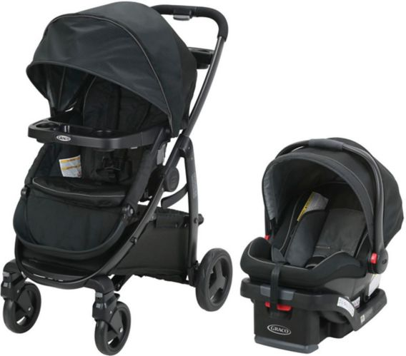 Graco Modes Travel System with SnugRide Click Connect 35 Infant Car Seat Product image