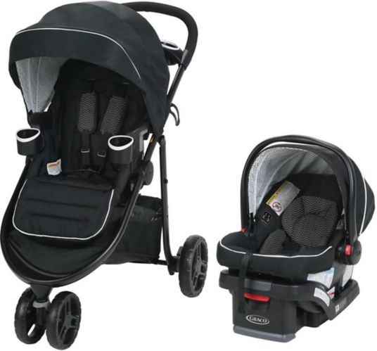 Graco Modes 3 Lite Travel System with SnugRide SnugLock 30 Infant Car Seat Product image
