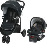 Graco Modes 3 Lite Travel System with SnugRide SnugLock 30 Infant Car Seat | Graconull