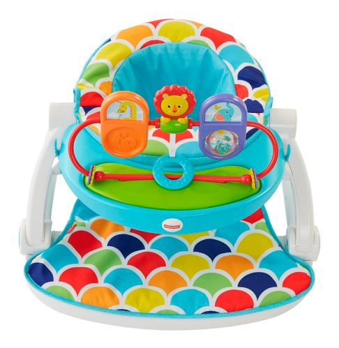 Fisher-Price Sit-Me-Up Floor Seat With Toy Tray Product image