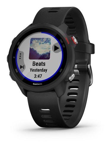 Montre intelligente de course GPS Garmin Forerunner® 245 Music, noir Image de l'article