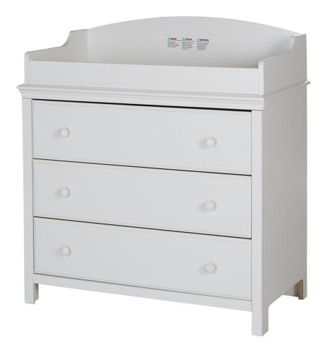 South Shore Cotton Candy Changing Table with Drawers Product image