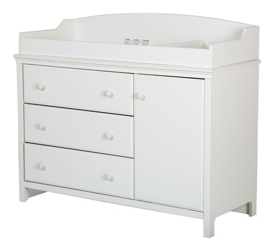 South Shore Cotton Candy Changing Table with Station Product image