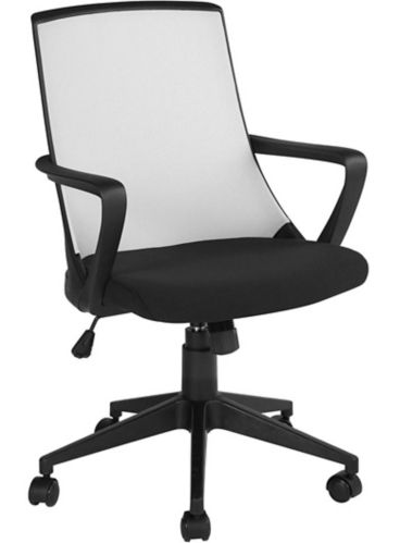 39F Tippi Fabric Office Chair, Black/Grey Product image