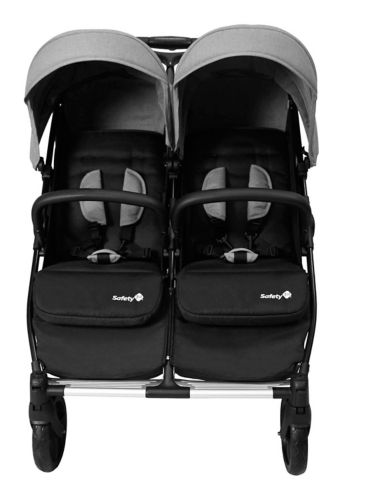 Safety 1st Double Double Duo Stroller, Flint Grey Product image