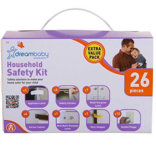 Trousse de sécurité pour la maison Dreambaby, paq. 26 Image de l'article