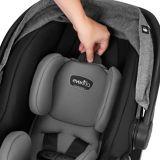 Evenflo LiteMax DLX Infant Car Seat, Meteorite | Evenflonull