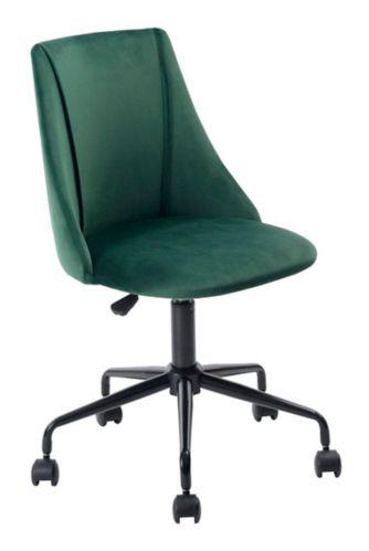 39F Velvet Office Chair, Green Product image