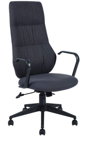 39F Dewitt Fabric Office Chair, Black Product image
