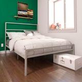 Dorel TeenB Metal Full Bed, Silver | Dorelnull