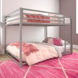 Dorel Kool Metal Full/Full Bunk Bed, Grey | Dorelnull