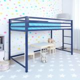Dorel Kool Metal Junior Twin Loft Bed, Blue | Dorelnull