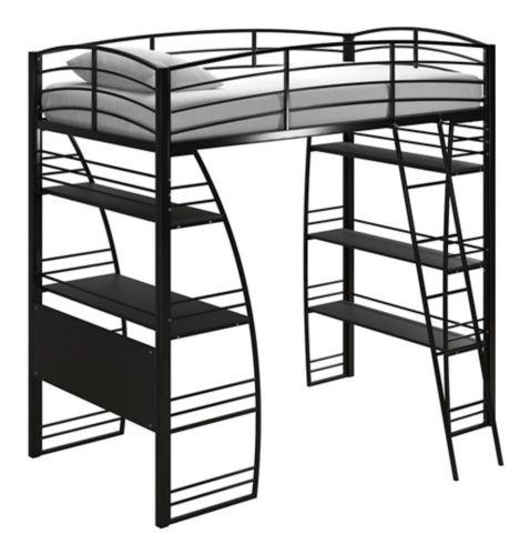 Lit mezzanine Dorel Kool, noir Image de l'article