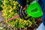 Greenworks Pro 60V Cordless Hedge Trimmer, Tool Only | GREENWORKSnull