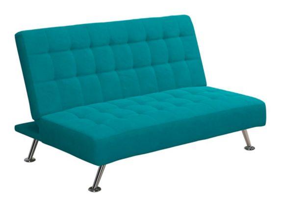 Dorel Kool Kids Sofa Futon, Teal Product image