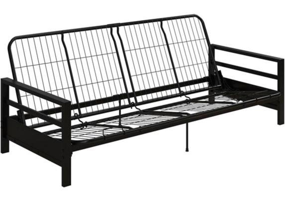 Cadre pour futon en métal Dorel Comfort, noir Image de l'article